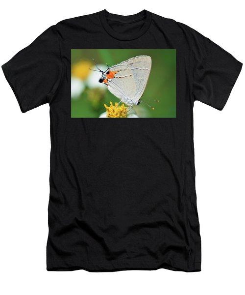 Hairstreak Men's T-Shirt (Athletic Fit)