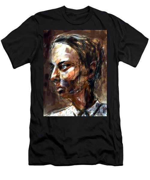 Men's T-Shirt (Athletic Fit) featuring the digital art Helen by Jim Vance