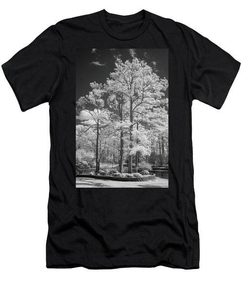 Hugh Macrae Park Men's T-Shirt (Slim Fit) by Denis Lemay