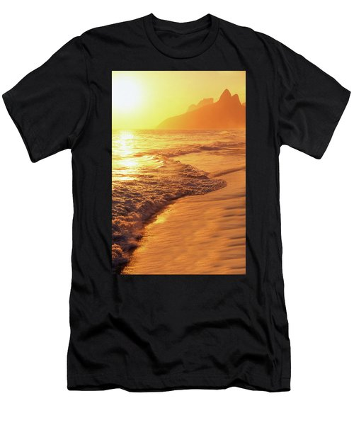 Ipanema Beach Rio De Janeiro Brazil Men's T-Shirt (Athletic Fit)