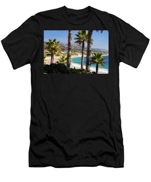 Laguna Beach California Coast Men's T-Shirt (Athletic Fit)