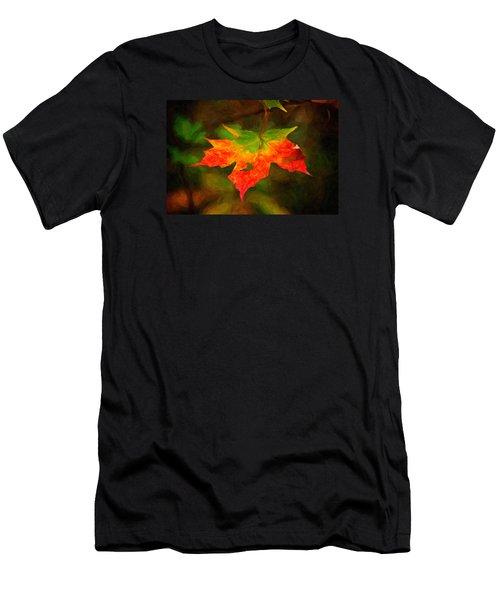 Maple Leaf Men's T-Shirt (Athletic Fit)