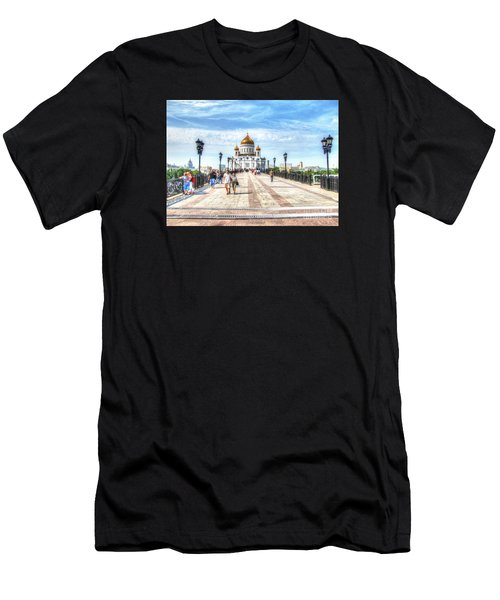 Moscow Russia Men's T-Shirt (Athletic Fit)