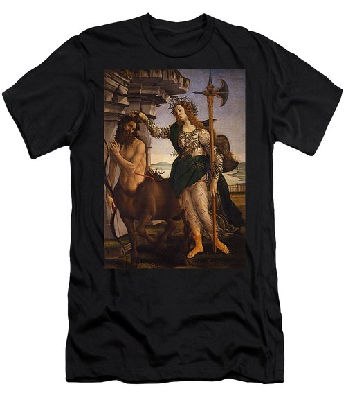 Pallas And The Centaur Men's T-Shirt (Athletic Fit)