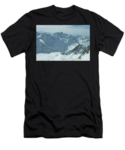 Pitztal Glacier Men's T-Shirt (Athletic Fit)