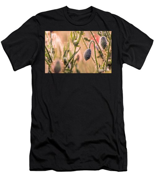 Poppy Flowers Men's T-Shirt (Athletic Fit)