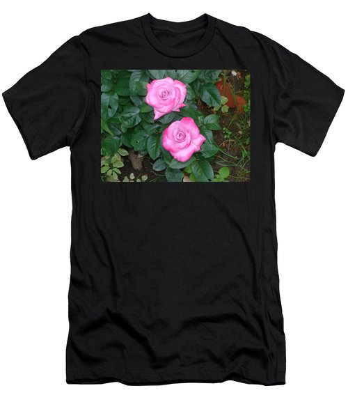 Paradise Rose Men's T-Shirt (Athletic Fit)