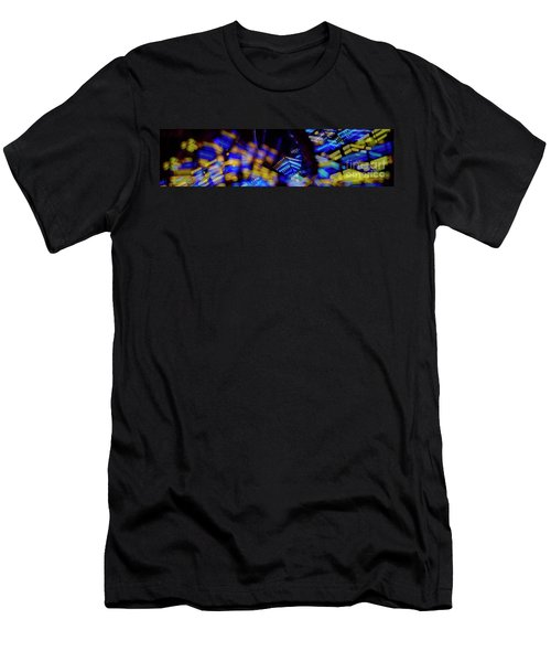 Singapore Night Urban City Light - Series - Your Singapore Men's T-Shirt (Athletic Fit)