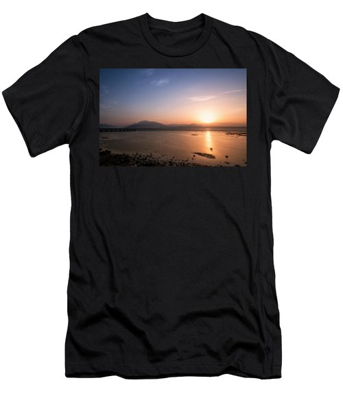 Men's T-Shirt (Athletic Fit) featuring the photograph Sirmione by Traven Milovich