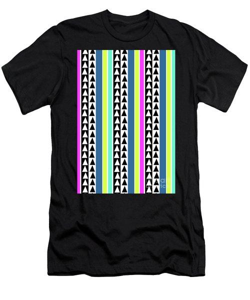 Stripes Men's T-Shirt (Athletic Fit)