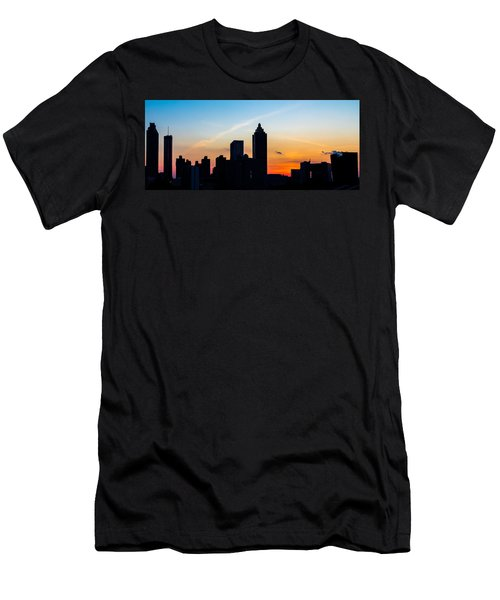 Sunset In Atlanta Men's T-Shirt (Athletic Fit)