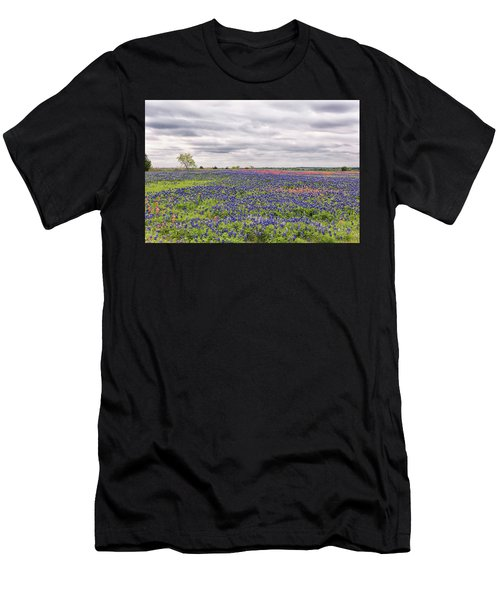 Texas Wildflowers 2 Men's T-Shirt (Athletic Fit)