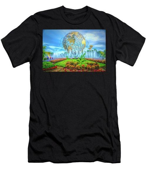 The Unisphere Men's T-Shirt (Athletic Fit)