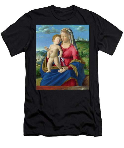 The Virgin And Child Men's T-Shirt (Athletic Fit)