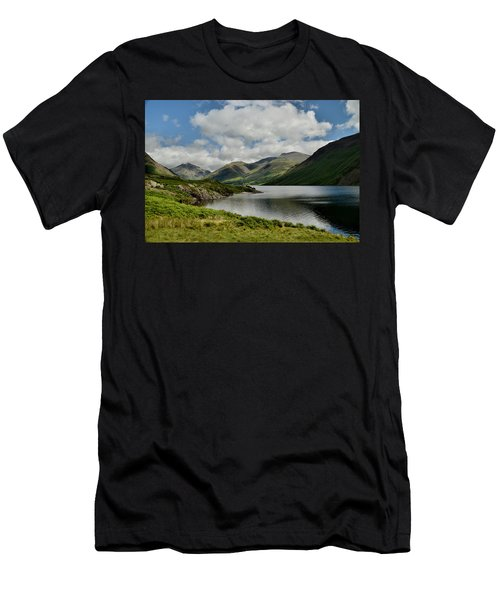 Wastwater Lake District Men's T-Shirt (Athletic Fit)