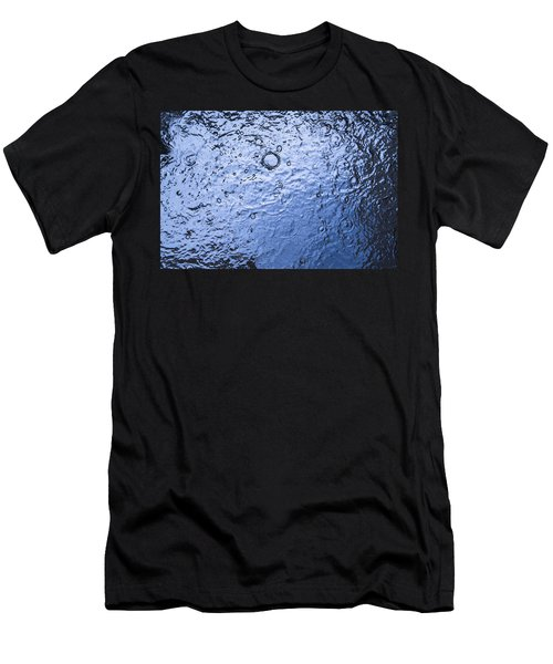 Water Abstraction - Blue Men's T-Shirt (Athletic Fit)