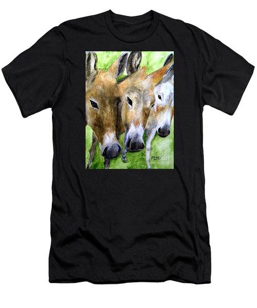 3 Wise Mules Men's T-Shirt (Athletic Fit)