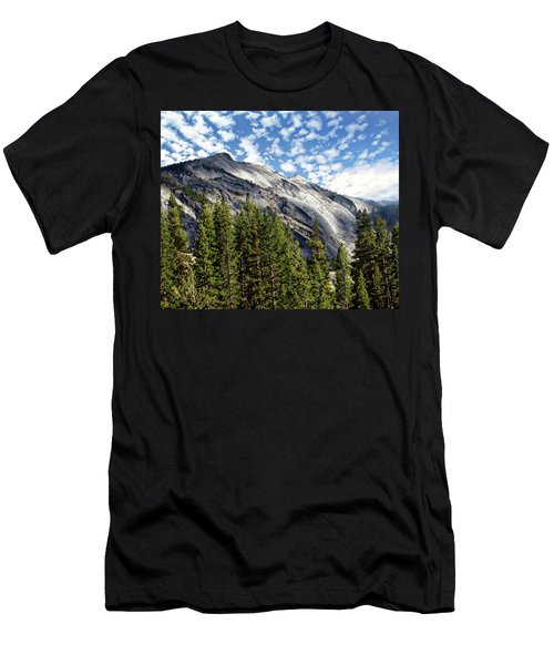 Men's T-Shirt (Athletic Fit) featuring the photograph Yosemite National Park by Anthony Dezenzio