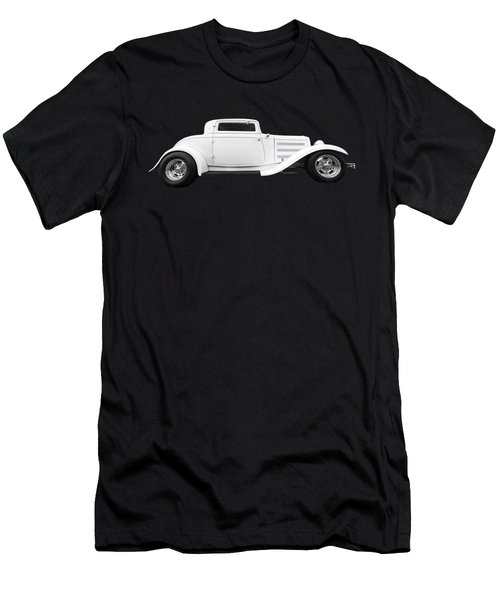 32 Ford Deuce Coupe In Black And White Men's T-Shirt (Athletic Fit)