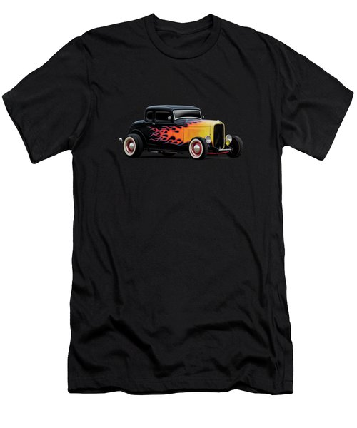 32 Ford Five-window Men's T-Shirt (Athletic Fit)
