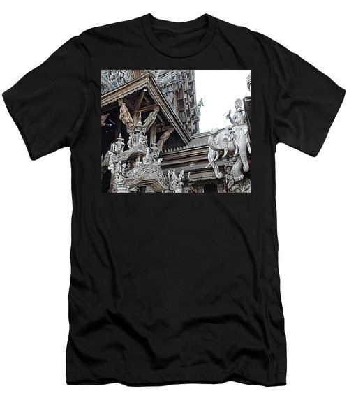 World Peace Activist Men's T-Shirt (Slim Fit) by John Potts