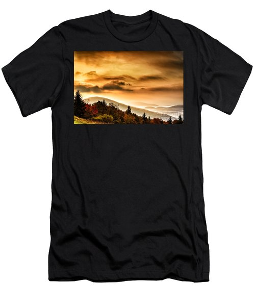 Allegheny Mountain Sunrise #33 Men's T-Shirt (Athletic Fit)