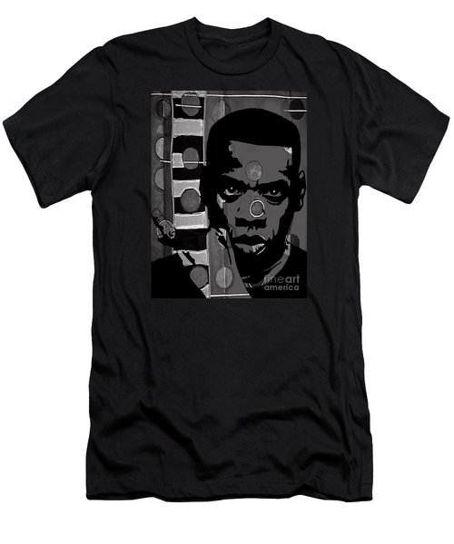Jay Z Collection Men's T-Shirt (Slim Fit) by Marvin Blaine
