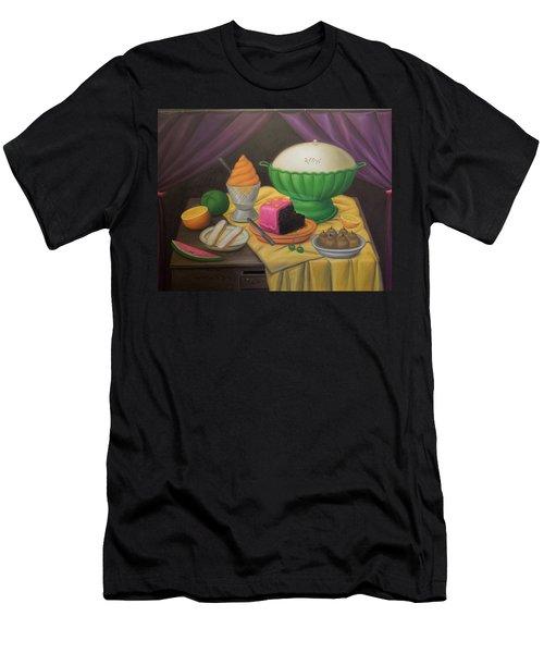 Bogota Museo Botero Men's T-Shirt (Athletic Fit)