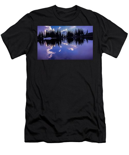 35mm Scan Of Image Lake And Glacier Peak Men's T-Shirt (Athletic Fit)