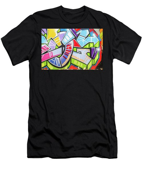 Graffiti Men's T-Shirt (Athletic Fit)