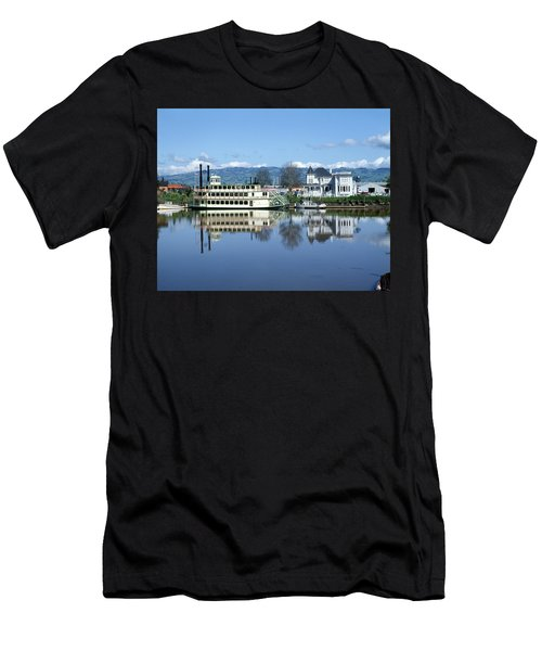 3b6380 Petaluma Queen Riverboat Men's T-Shirt (Athletic Fit)