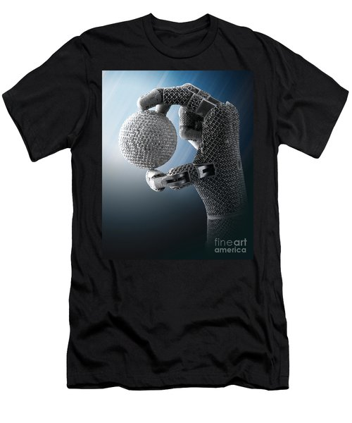 3d Printing Additive Robotic Hand Men's T-Shirt (Athletic Fit)