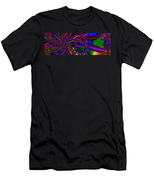 3x1 Abstract 911 Men's T-Shirt (Athletic Fit)