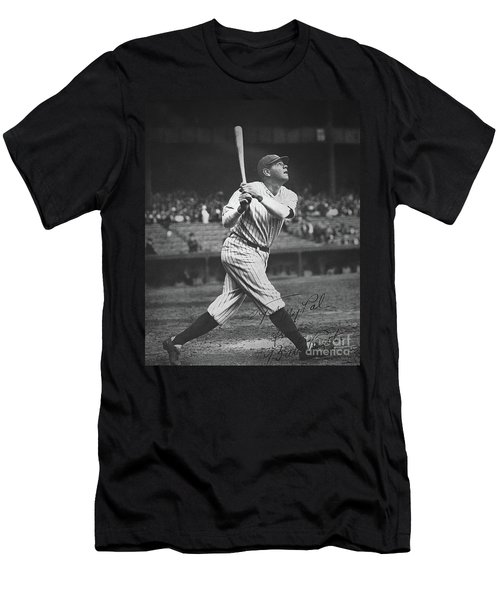 Babe Ruth  Men's T-Shirt (Athletic Fit)