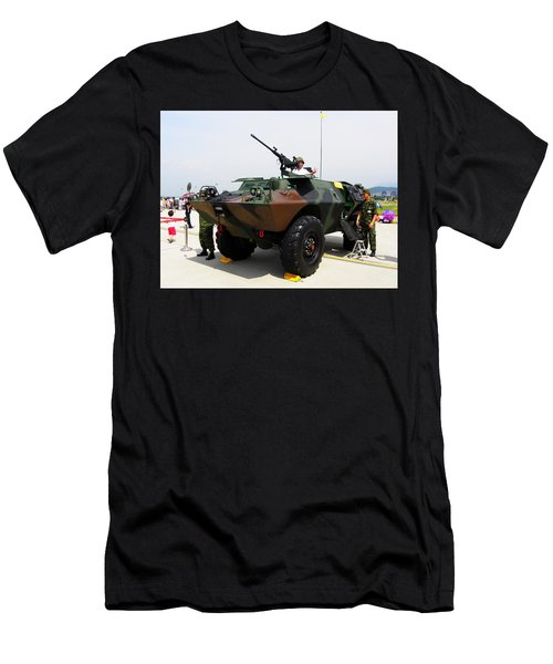 Cadillac Gage Commando Men's T-Shirt (Athletic Fit)