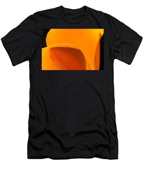 Californian Poppies Men's T-Shirt (Athletic Fit)