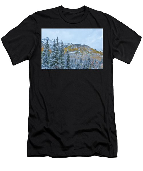 Colorado Fall Foliage 2 Men's T-Shirt (Athletic Fit)