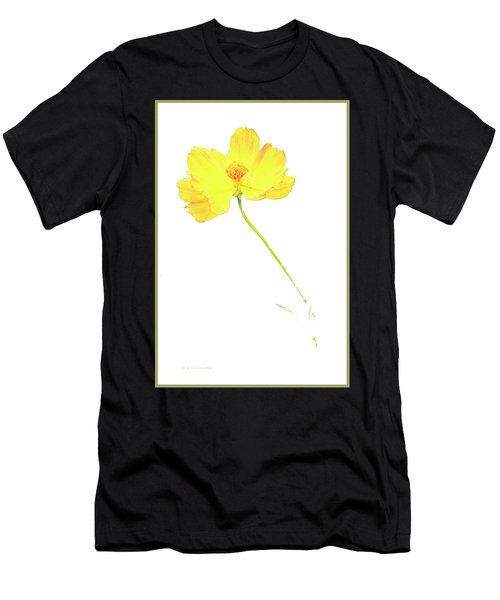 Cosmos Flower Men's T-Shirt (Athletic Fit)