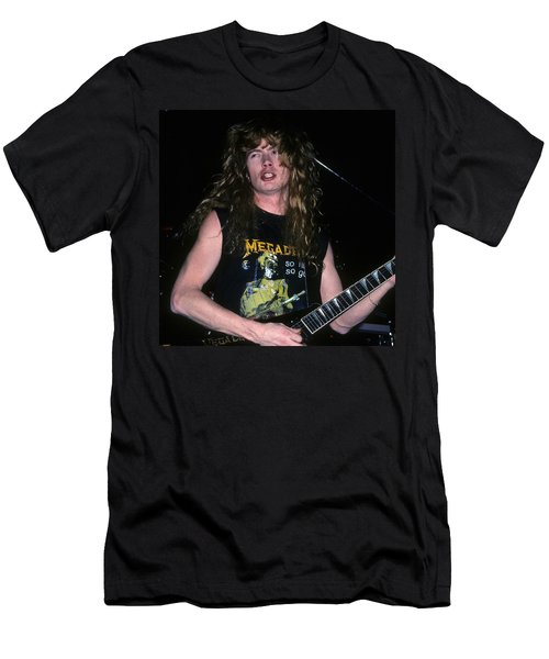 Dave Mustaine Of Megadeth Men's T-Shirt (Athletic Fit)