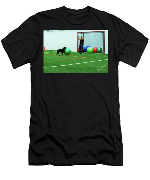Men's T-Shirt (Athletic Fit) featuring the photograph Donna And Berry by Fred Stearns