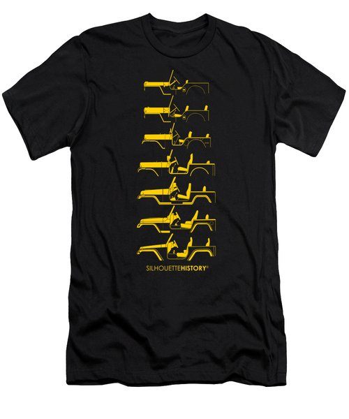 General Purpose Silhouettehistory Men's T-Shirt (Athletic Fit)