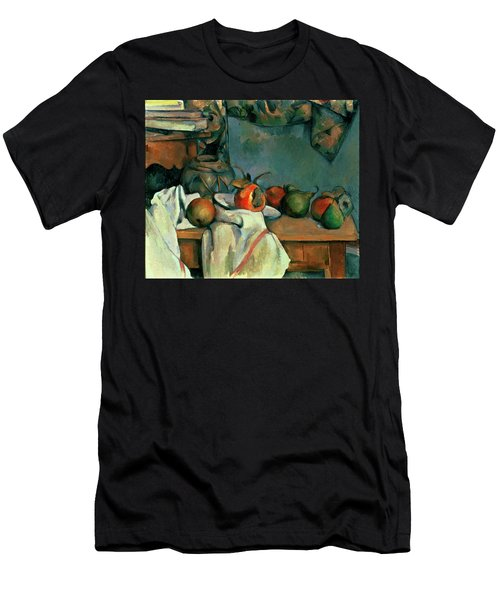 Ginger Pot With Pomegranate And Pears Men's T-Shirt (Athletic Fit)