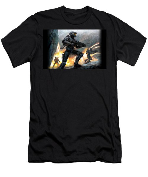 Halo Men's T-Shirt (Athletic Fit)