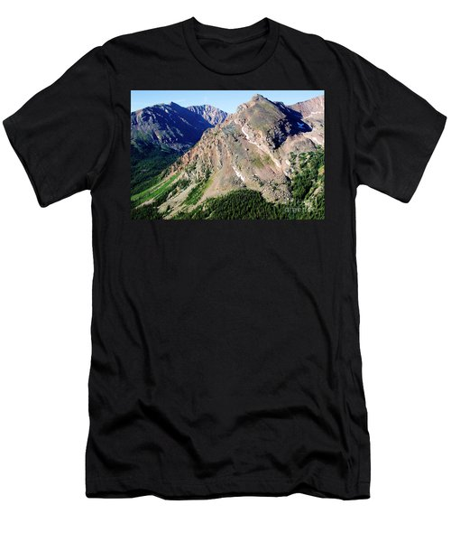 Hiking The Mount Massive Summit Men's T-Shirt (Athletic Fit)