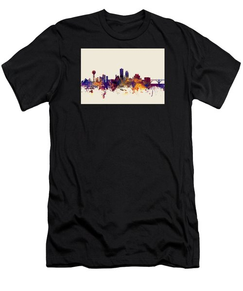 Knoxville Tennessee Skyline Men's T-Shirt (Athletic Fit)