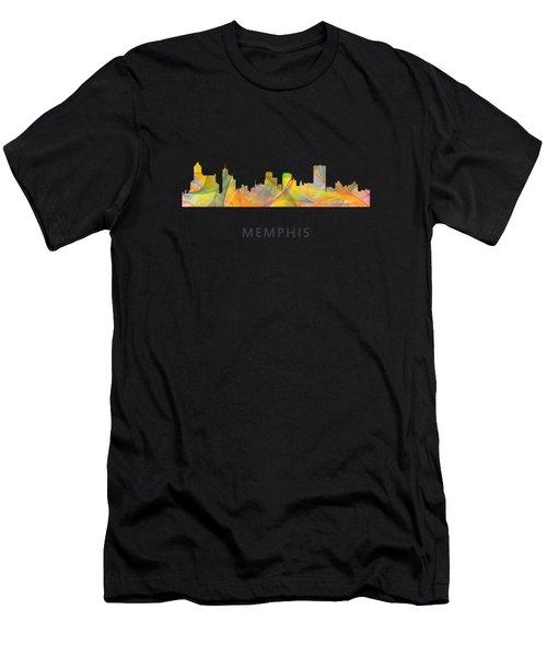 Memphis Tennessee Skyline Men's T-Shirt (Athletic Fit)