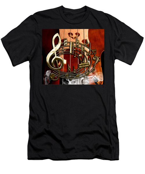 Musical Collection Men's T-Shirt (Slim Fit) by Marvin Blaine