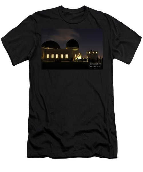 Night At Griffeth Observatory Men's T-Shirt (Athletic Fit)