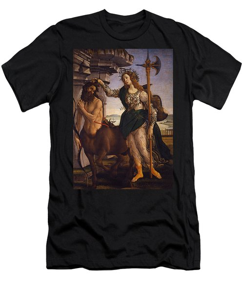 Pallas And The Centaur Men's T-Shirt (Athletic Fit)