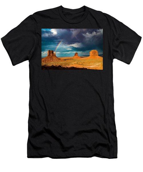 Rainbow Men's T-Shirt (Athletic Fit)